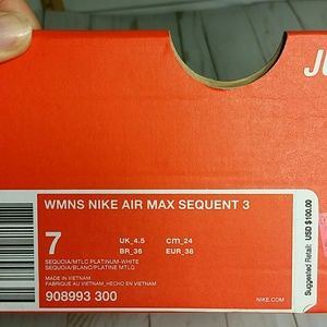 c54f682e59c1 Nike Shoes - Nike Women s Air Max Sequent 3 Running Shoes